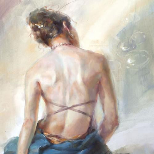 Envision Oil Painting by Anna Razumovskaya