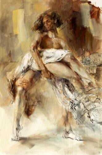 Eternal Legend Oil Painting by Anna Razumovskaya