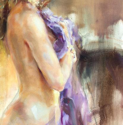 Fermata Oil Painting by Anna Razumovskaya