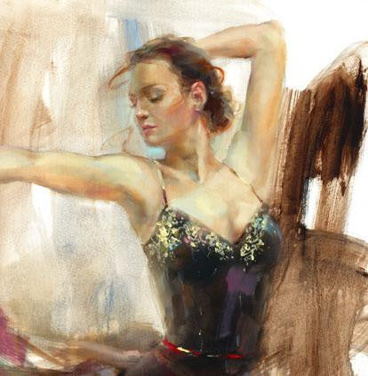 Free Spirit Oil Painting by Anna Razumovskaya
