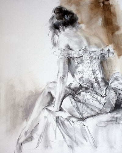 French Laces 1 Oil Painting by Anna Razumovskaya