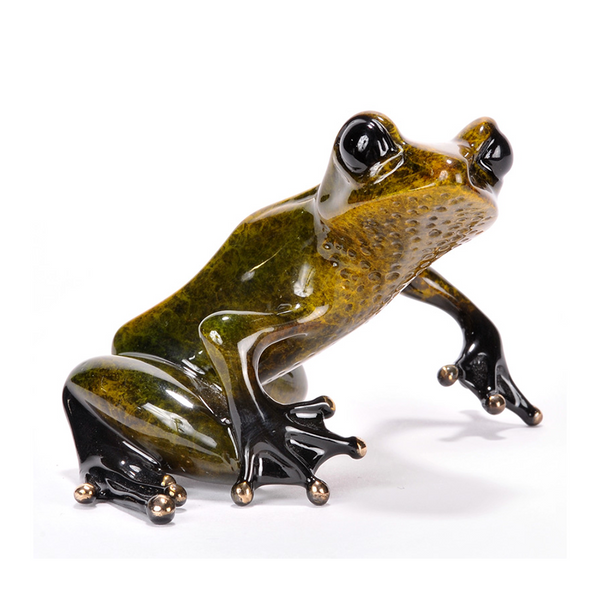 Gem bronze frog by Tim Cotterill