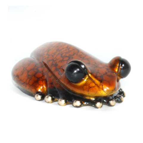 Gumdrop bronze frog by Tim Cotterill