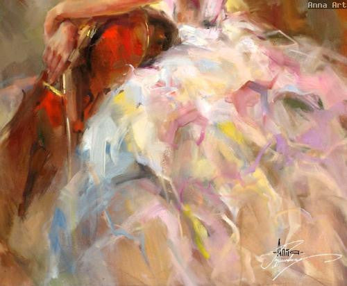 Harmony 1 Oil Painting by Anna Razumovskaya