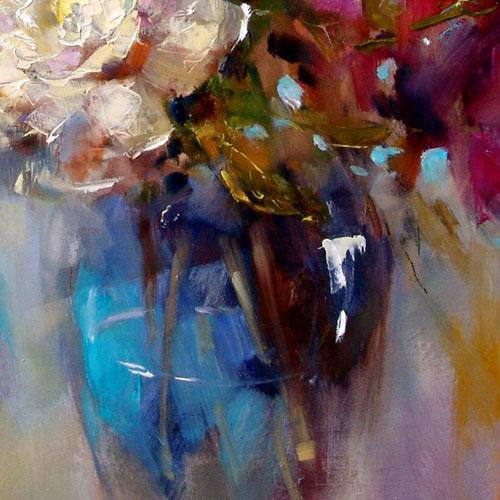 Hold this Moment 4 Oil Painting by Anna Razumovskaya
