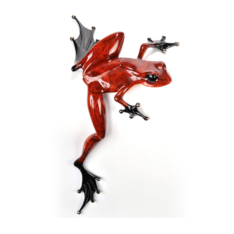 Hung Over bronze frog by Tim Cotterill