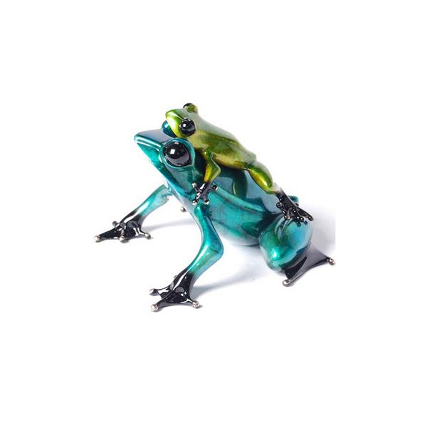 Joy Ride bronze frog by Tim Cotterill