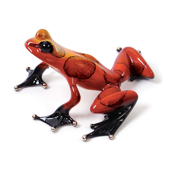 Juliet bronze frog by Tim Cotterill