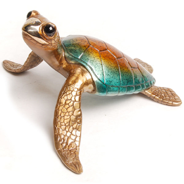 Lagoon bronze sea turtle by Chris Barela