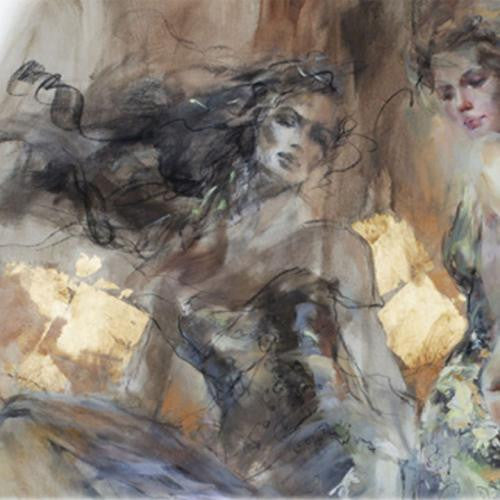 Liberation Oil Painting by Anna Razumovskaya