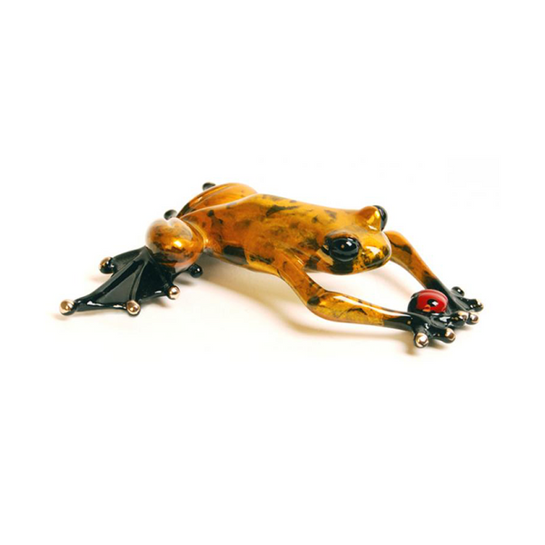 Lucky Bug bronze frog by Tim Cotterill