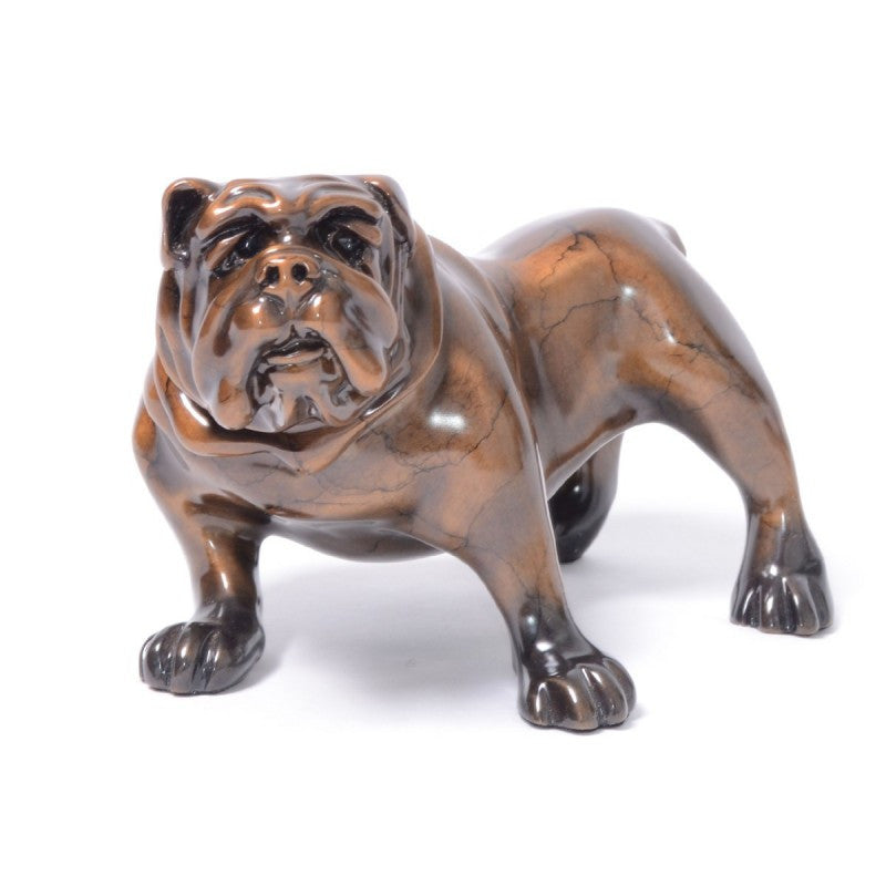 Otto bronze dog by Marty Goldstein