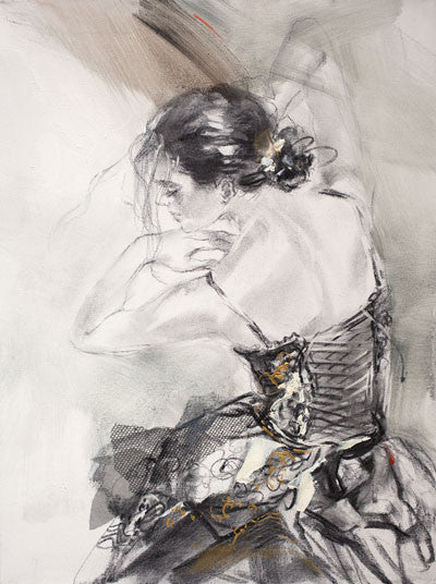 Poetry in Motion Oil Painting by Anna Razumovskaya