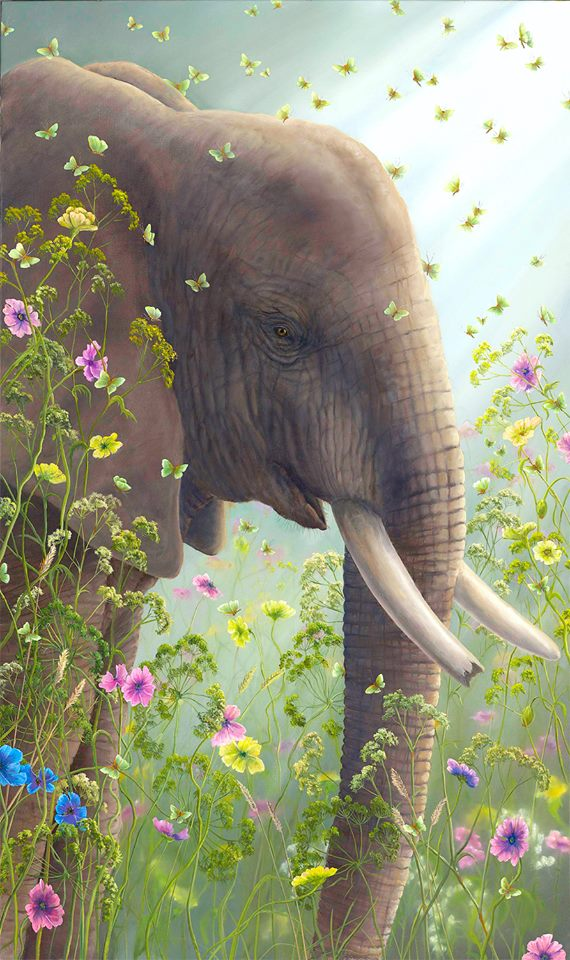Presence I - Robert Bissell Limited Edition Fine Art Print on Canvas