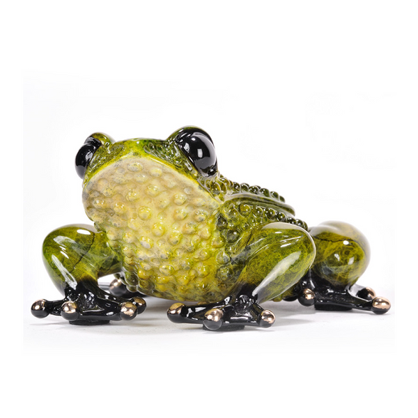 Prince Charming bronze frog by Tim Cotterill