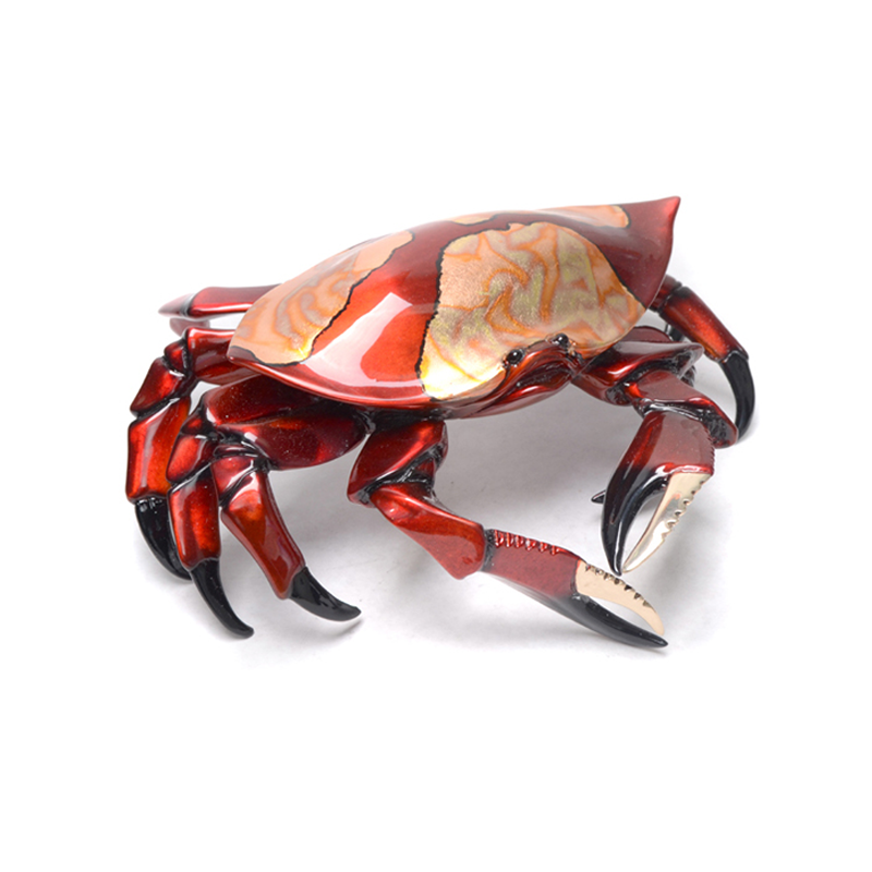 Red Crab bronze by Brian Arthur