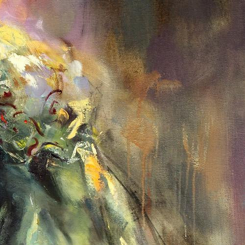 Resonance Oil Painting by Anna Razumovskaya