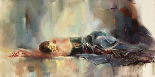 Serenity Oil Painting by Anna Razumovskaya
