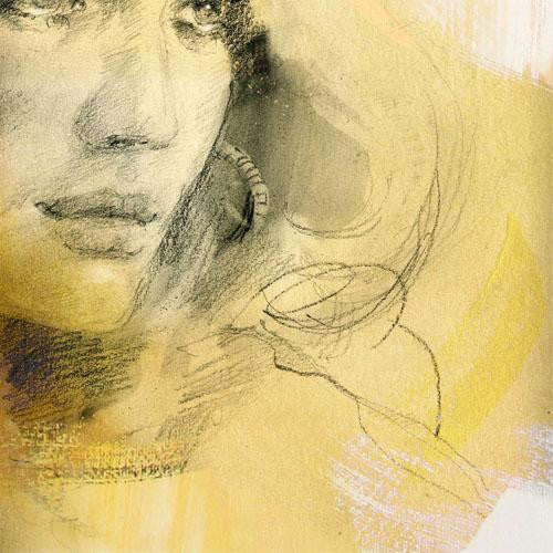 Soft Touch 3 Watercolour by Anna Razumovskaya