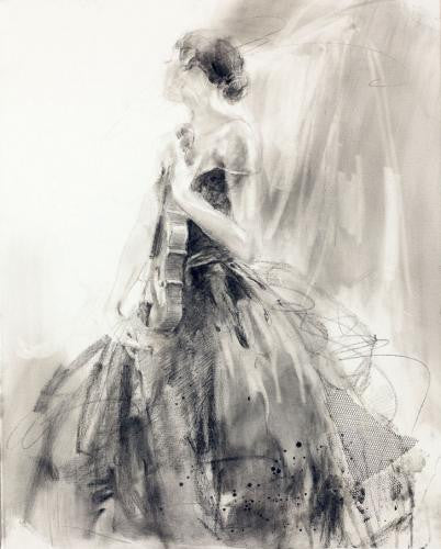 Soul Enchanted 1 Oil Painting by Anna Razumovskaya