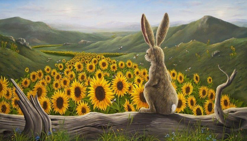 The Arising Giclee by Robert Bissell