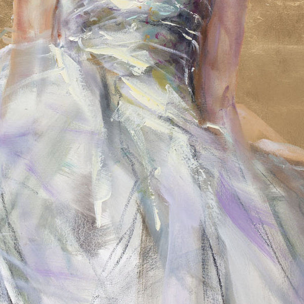 The Gift Oil Painting by Anna Razumovskaya