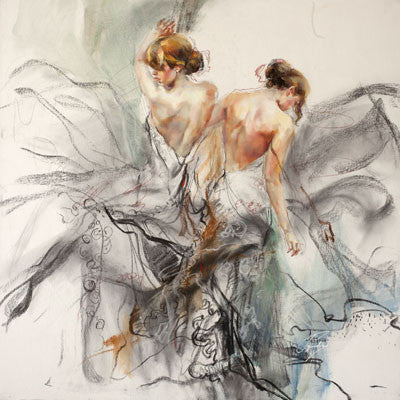 Whirl of Fantasy 1 Oil Painting by Anna Razumovskaya
