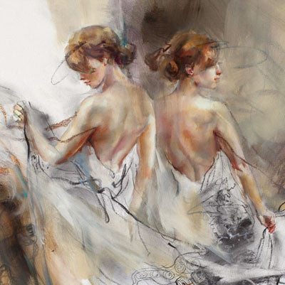 Whirl of Fantasy 2 Oil Painting by Anna Razumovskaya