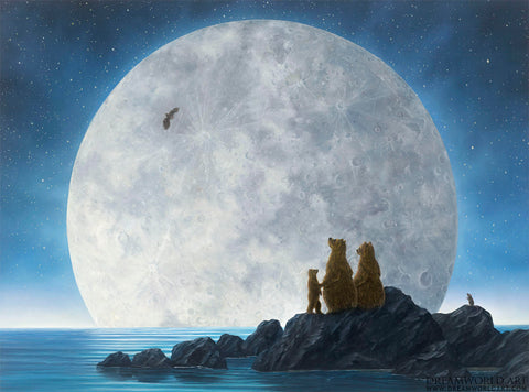 Moonlighters II - Robert Bissell Limited Edition Fine Art Print on Canvas