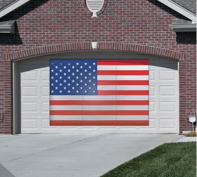 American Flag Photo Backdrop from Impress My Parents