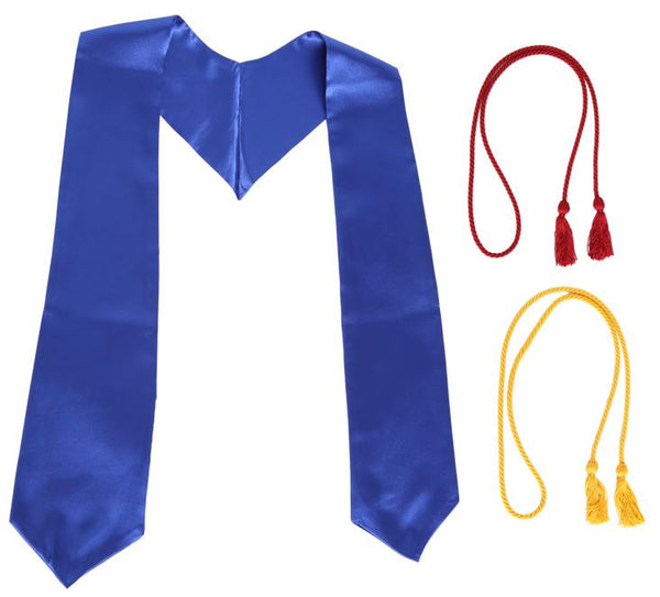 Royal Blue Graduation Stole Bundle from Impress My Parents