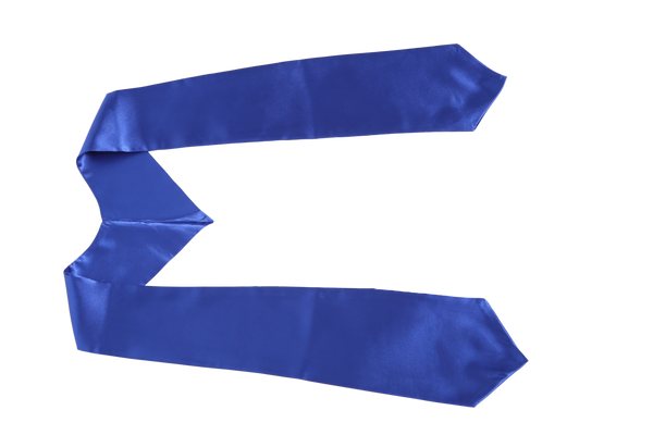 Blue Graduation Stole from Impress My Parents