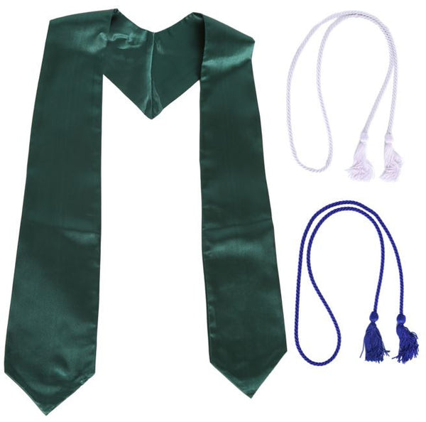 Green Graduation Stole Bundle from Impress My Parents