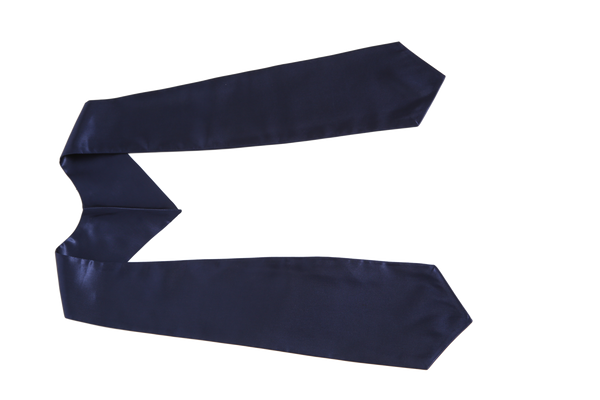Navy Blue Graduation Stole from Impress My Parents