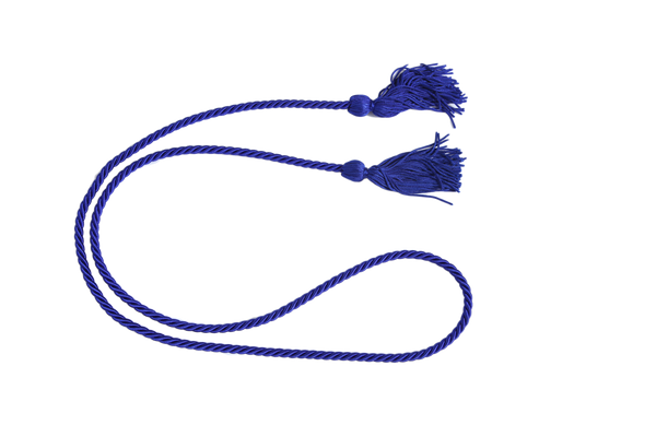 Royal Blue Graduation Honor Cord from Impress My Parents
