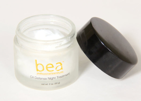 Bea Skincare and Cosmetics™- Oil-free Night Treatment with Glycolic Acid, Salicylic Acid, Cinnamon Extract, Manuka Honey and anti-oxidants Vitamins A and E™