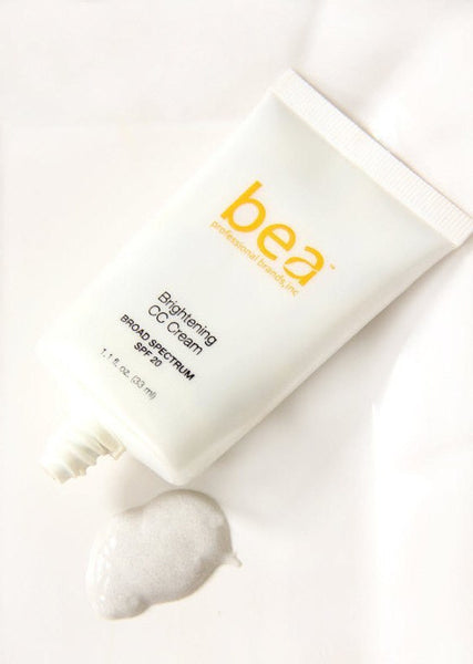 Skincare - Bea Skincare -Brightening CC Cream With SPF 20 By Bea | Hypoallergenic, Oil-Free, Paraben-Free (1.1 Fl.oz.)