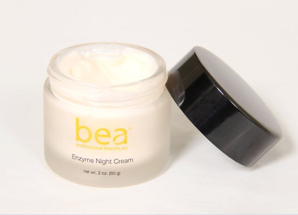 Skincare - Papaya-Based Night Cream With Papain, Biotin, Cucumber, Kiwi, Sage, Sugar Cane, Lemon, Orange & Apple Extracts ™ ( 2 Oz.)
