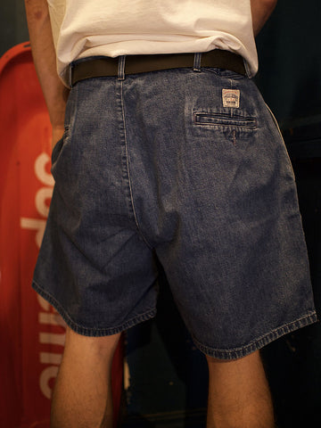 Polo Ralph Lauren Golf Pleated Jean Shorts (34)