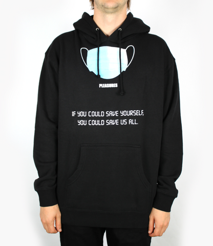 Pleasures Save Yourself Hoodie