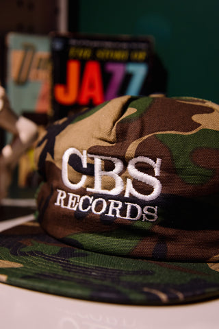 CBS Records Mesh Trucker Hat