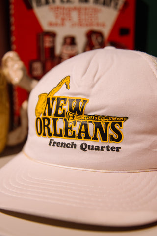 New Orleans French Quarter Mesh Trucker Hat