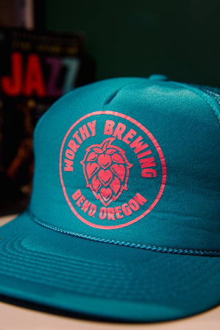 Worthy Brewing OR Mesh Trucker Hat