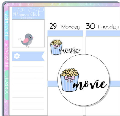 Doodle Movie Stickers