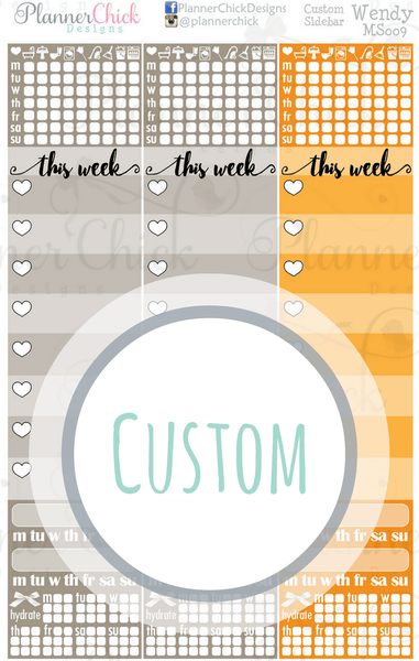 Custom Sidebar | ***Read Description***