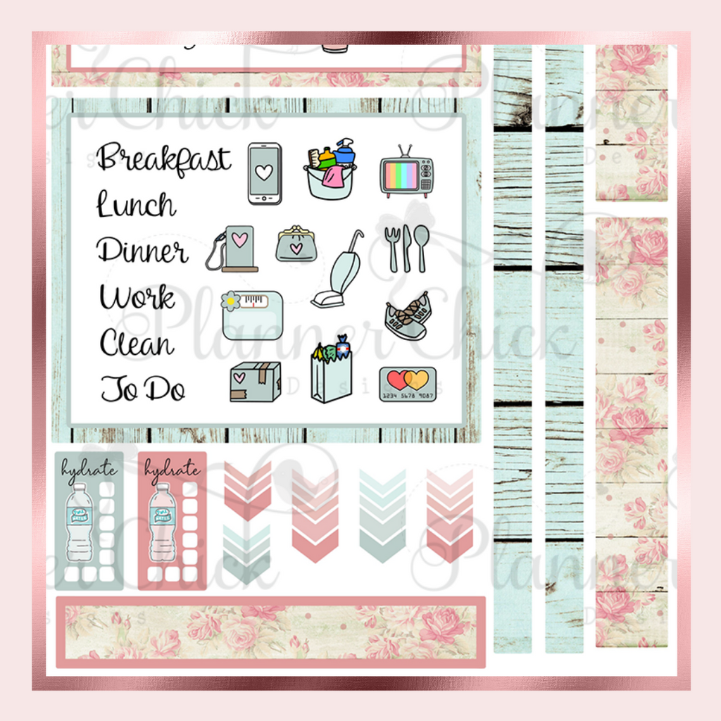 Shabby Chic ~ Two-Day Mini Kit for Daily Duo