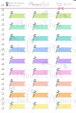 Syringe Labels Planner Stickers