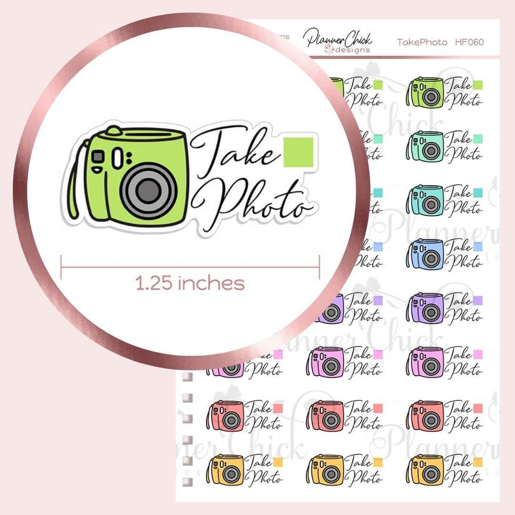 Take Photo Planner Stickers