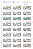 Change Toothbrush Planner Stickers