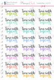 Time With Mom Planner Stickers
